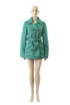 Free Mannequin In Coat | Isolated Royalty Free Stock Images - 15800299
