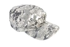 Free Army Cap | Isolated Royalty Free Stock Image - 15801656