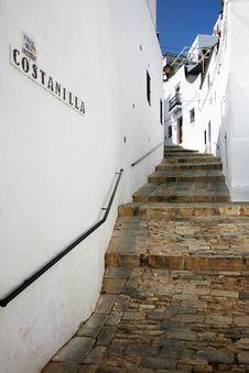 Vejer De La Frontera, Cadiz Royalty Free Stock Photography