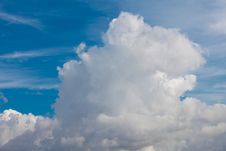 Free White Fluffy Clouds Stock Images - 15801874