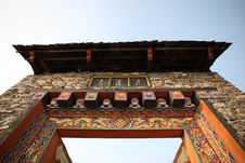 Free Traditional Tibetan House Royalty Free Stock Photography - 15802317