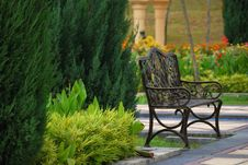 Free Garden Chair Stock Photos - 15802563