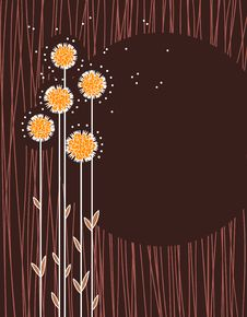 Free Floral Vector Background Stock Images - 15803694
