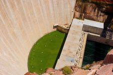 Free Glen Canyon Dam Royalty Free Stock Photo - 15804325