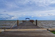 Free Wooden Jetty Royalty Free Stock Image - 15804416