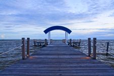 Free Wooden Jetty Stock Photo - 15804470