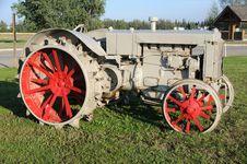 Free Vintage Tractor At Historic Farm Stock Photos - 15805383