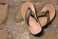 Free Sandals Royalty Free Stock Image - 15805896