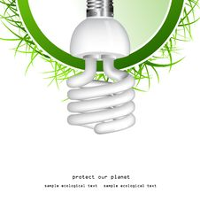 Free Economical Bulb Background Stock Images - 15806784