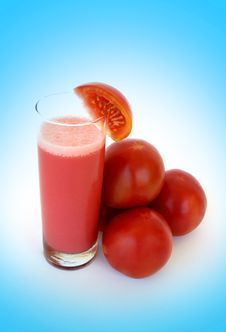 Free Organic Tomato Juice Royalty Free Stock Photos - 15807038