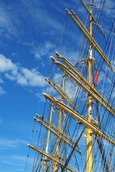 Free Ship Mast Royalty Free Stock Photos - 15807228