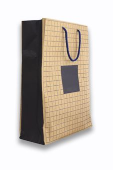 Free Front Of Brown Crumpled Paper Bag Form The Market Royalty Free Stock Photos - 15807478