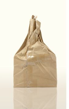 Free Brown   Paper Bag On White Background Royalty Free Stock Photography - 15807487