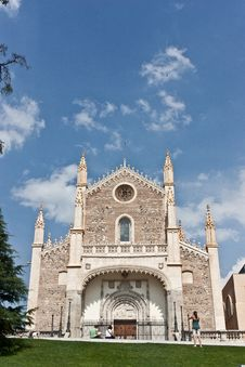Free Iglesia De Los Jeronimos Royalty Free Stock Photos - 15807678