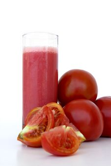 Free Organic Tomato Juice Royalty Free Stock Photo - 15808095