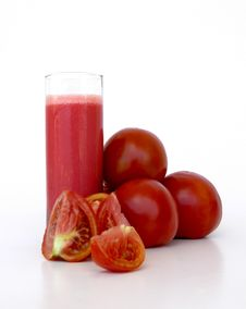 Free Organic Tomato Juice Royalty Free Stock Photos - 15808218