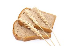 Sliced Bread With Ears Royalty Free Stock Photo
