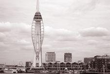 Free Spinnaker Tower, Portmouth Stock Photos - 15808893