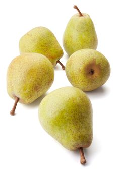 Free Five Pears Royalty Free Stock Photos - 15809468