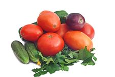 Free Fresh Vegetables From The Patch. Stock Photos - 15809533
