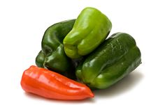 Free Green And Red Pepper Stock Photo - 15809620