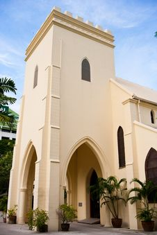 Free Christ Church Bangkok Royalty Free Stock Photo - 15809705