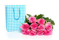 Free A Bunch Of Pink Roses Royalty Free Stock Photo - 15815925