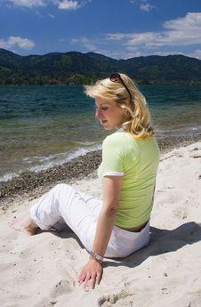Free On The Beach Stock Photo - 15810000