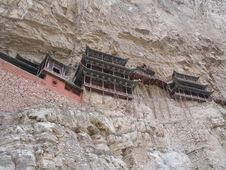 Free Xuan Kong Temple Stock Image - 15810431