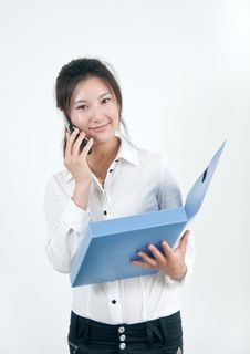 Free Asian Business Woman Royalty Free Stock Photography - 15810807
