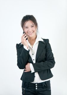 Free Asian White-collar Woman Royalty Free Stock Photo - 15810975