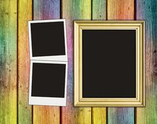 Free Blank Photos And Frame Royalty Free Stock Photo - 15810995