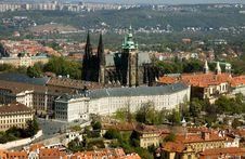 Prague Caste To View Stock Photo