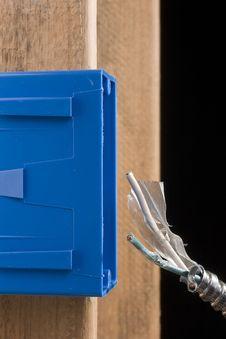 Free Switch Box Royalty Free Stock Photo - 15811125