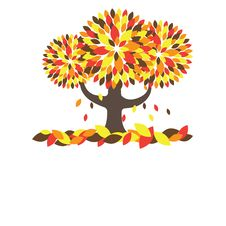 Free Colorful Autumn Tree. Vector Illustration Stock Photos - 15811423