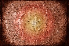 Free Grungy Steel Sheet With Damaged Paint. Royalty Free Stock Photo - 15811535