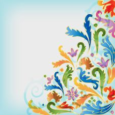 Free Floral Background Stock Photography - 15811982