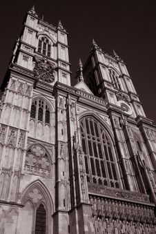 Free Main Facade Of Westminster Abbey Stock Images - 15812024