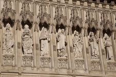 Free Westminster Abbey Church Facade Stock Photo - 15812240