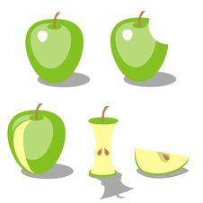 Apple Color 02 Royalty Free Stock Photography