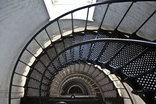 Free Beautiful Iros Stairs In Lighthouse Stock Images - 15812504