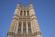 Free Tower Of Houses Of Parliament Royalty Free Stock Photo - 15812675