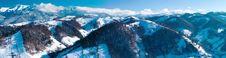 Free Bucegi Mountains Large Panorama Stock Photography - 15813102