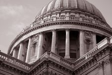 Free St Pauls Cathedral Church Royalty Free Stock Photo - 15813985