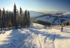 Free Winter In Mountains Stock Photo - 15814210