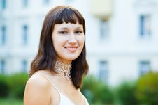 Free Portrait Of Naturally Beautiful Woman In Her Twent Royalty Free Stock Photo - 15814215