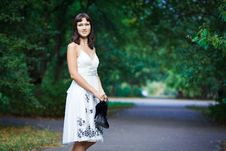 Free Portrait Of Naturally Beautiful Woman In Her Twent Royalty Free Stock Photography - 15814367