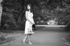 Free Portrait Of Naturally Beautiful Woman Stock Photo - 15814390