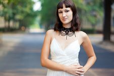 Free Portrait Of Naturally Beautiful Woman In Her Twent Royalty Free Stock Image - 15814556