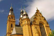 Church Of Saint Joseph In Speyer Stock Photos